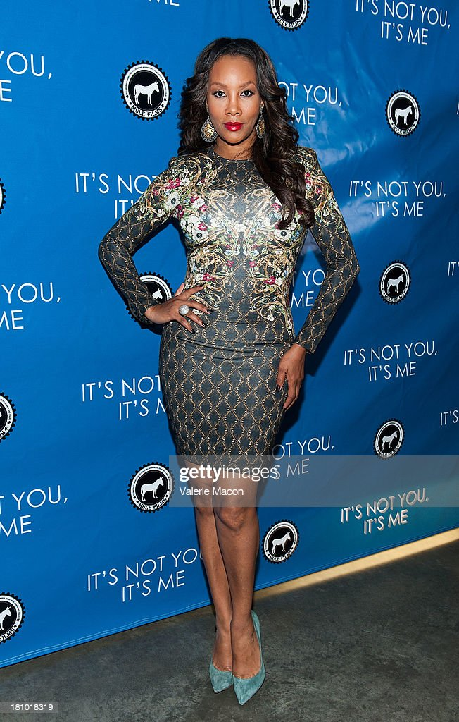 Actress <a gi-track='captionPersonalityLinkClicked' href=/galleries/search?phrase=Vivica+A.+Fox&family=editorial&specificpeople=201901 ng-click='$event.stopPropagation()'>Vivica A. Fox</a> arrives at the premiere of 'It's Not You, It's Me' at Downtown Independent Theatre on September 18, 2013 in Los Angeles, California.
