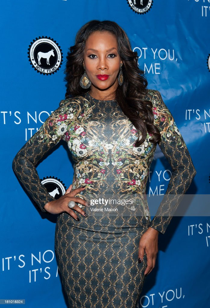 Actress Vivica A. Fox arrives at the premiere of 'It's Not You, It's Me' at Downtown Independent Theatre on September 18, 2013 in Los Angeles, California.