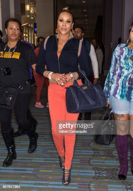 Actress Vivica A Fox attends Be Beautiful Expo 2017 at Pennsylvania Convention Center on March 25 2017 in Philadelphia Pennsylvania
