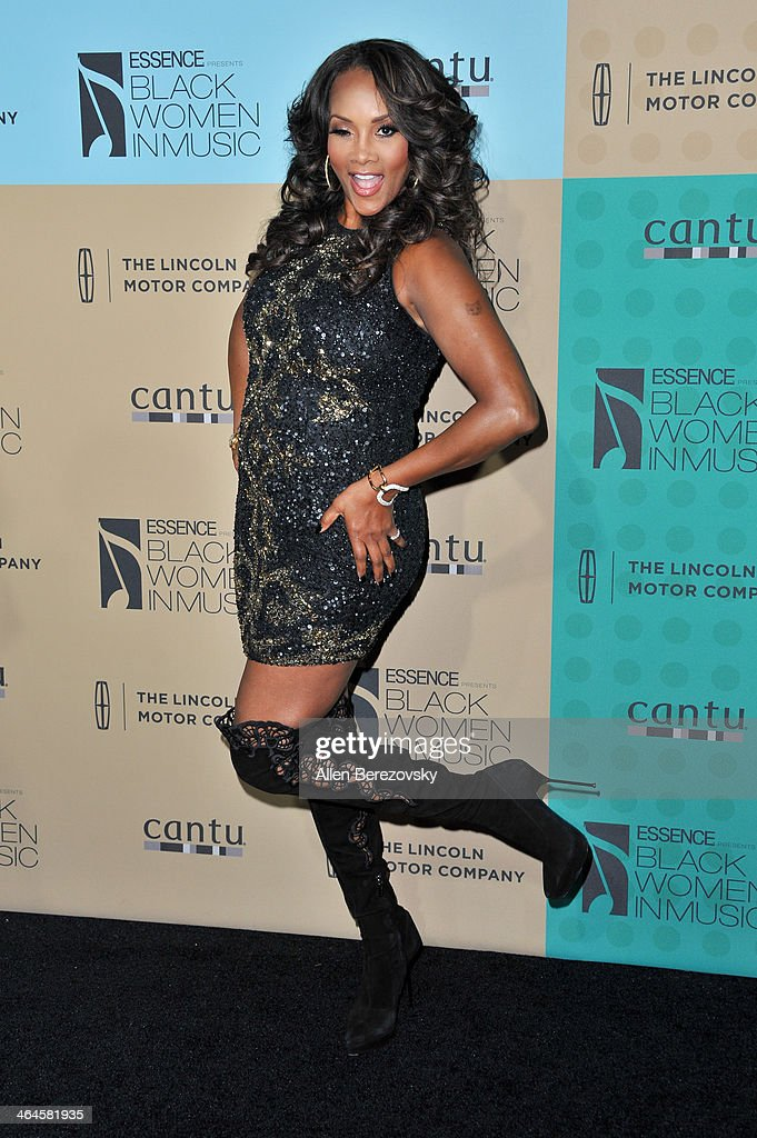 Actress <a gi-track='captionPersonalityLinkClicked' href=/galleries/search?phrase=Vivica+A.+Fox&family=editorial&specificpeople=201901 ng-click='$event.stopPropagation()'>Vivica A. Fox</a> attends Essence Magazine's 5th Annual Black Women In Music Event at 1 OAK on January 22, 2014 in West Hollywood, California.