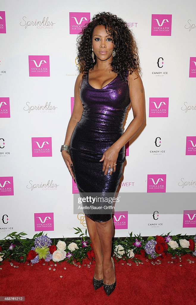 Actress <a gi-track='captionPersonalityLinkClicked' href=/galleries/search?phrase=Vivica+A.+Fox&family=editorial&specificpeople=201901 ng-click='$event.stopPropagation()'>Vivica A. Fox</a> attends her 50th birthday celebration at Philippe Chow on August 2, 2014 in Beverly Hills, California.