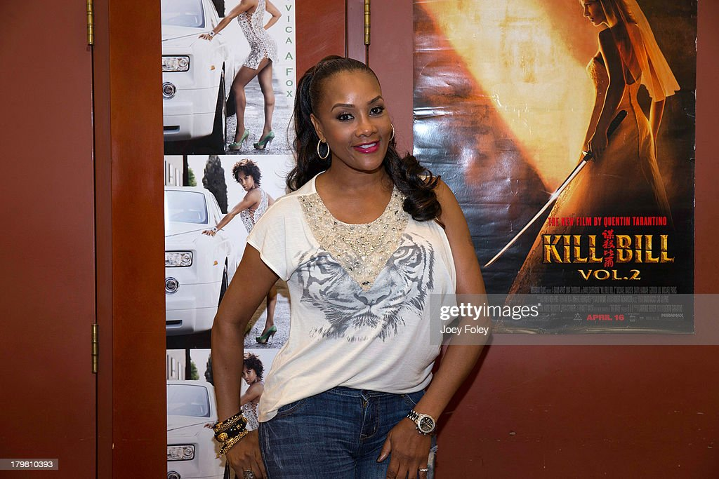 Actress <a gi-track='captionPersonalityLinkClicked' href=/galleries/search?phrase=Vivica+A.+Fox&family=editorial&specificpeople=201901 ng-click='$event.stopPropagation()'>Vivica A. Fox</a> attends HorrorHound Weekend at Marriott Indianapolis on September 6, 2013 in Indianapolis, Indiana.