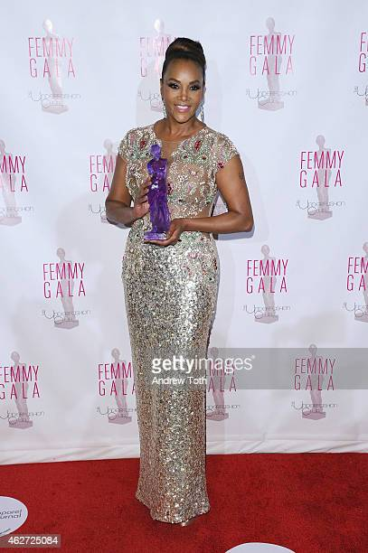 Actress Vivica A Fox attends the 2015 FEMMY Awards Gala at Cipriani 42nd Street on February 3 2015 in New York City