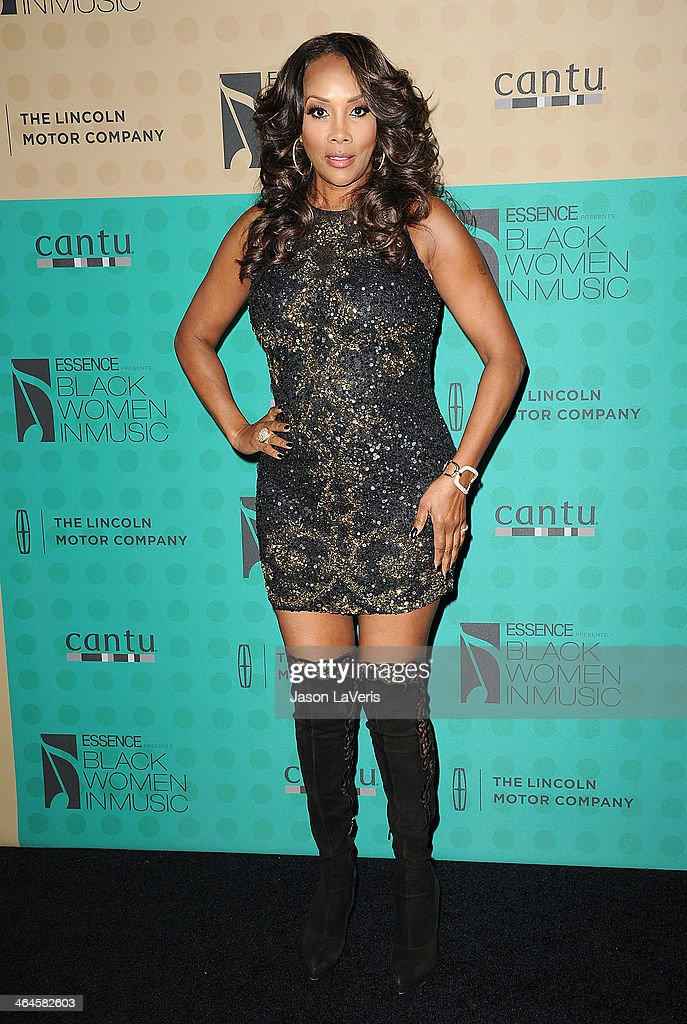Actress Vivica A. Fox attends the 5th annual Essence Black Women In Music event at 1 OAK on January 22, 2014 in West Hollywood, California.