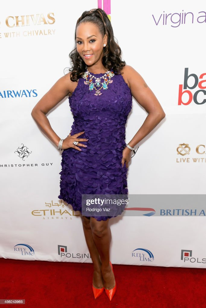 Actress <a gi-track='captionPersonalityLinkClicked' href=/galleries/search?phrase=Vivica+A.+Fox&family=editorial&specificpeople=201901 ng-click='$event.stopPropagation()'>Vivica A. Fox</a> attends The British American Business Council Los Angeles 54th Annual Christmas Luncheon at Fairmont Miramar Hotel on December 13, 2013 in Santa Monica, California.