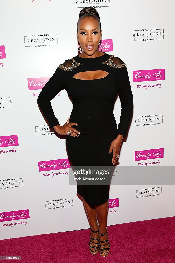 Actress Vivica A. Fox attends the Fire & Ice Gala Benefiting Fresh2o at Lexington Social House on March 28, 2013 in Hollywood, California.