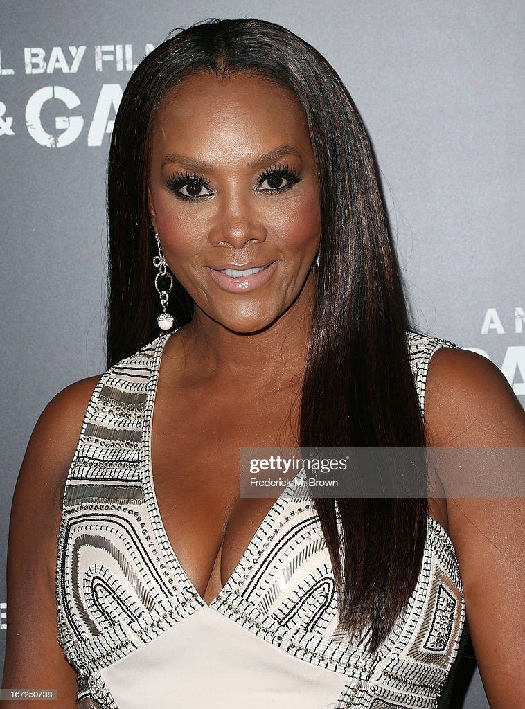 Actress Vivica A. Fox attends the premiere of Paramount Pictures' 'Pain & Gain' at the TCL Chinese Theatre on April 22, 2013 in Hollywood, California.