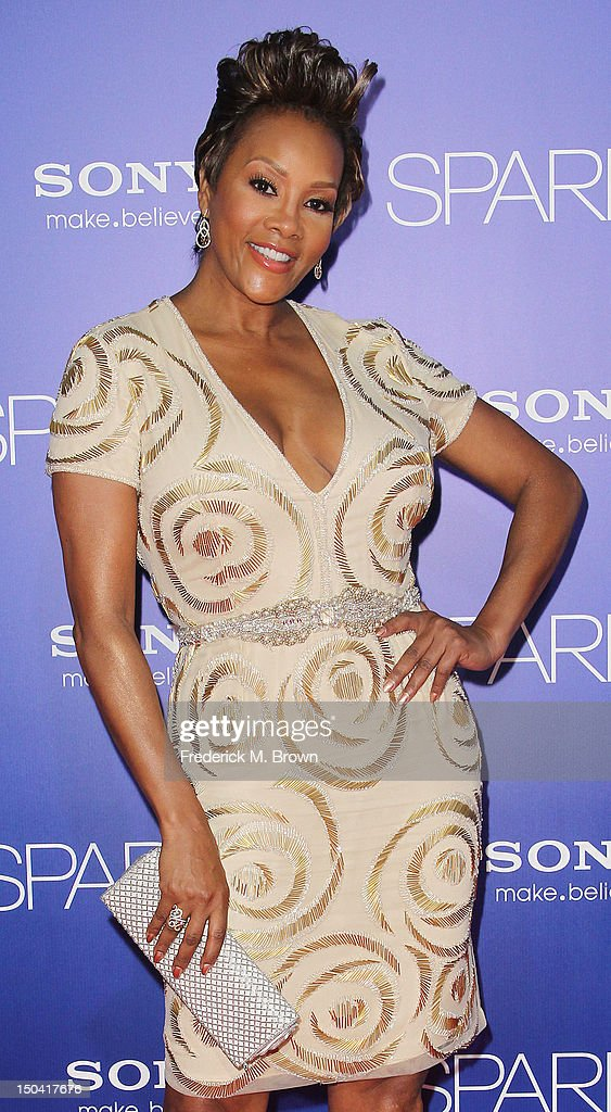 Actress <a gi-track='captionPersonalityLinkClicked' href=/galleries/search?phrase=Vivica+A.+Fox&family=editorial&specificpeople=201901 ng-click='$event.stopPropagation()'>Vivica A. Fox</a> attends the Premiere Of Tri-Star Pictures' 'Sparkle' at Grauman's Chinese Theatre on August 16, 2012 in Hollywood, California.