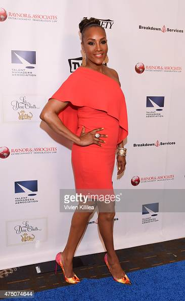 Actress Vivica A Fox attends The TMA 2015 Heller Awards on May 28 2015 in Century City California