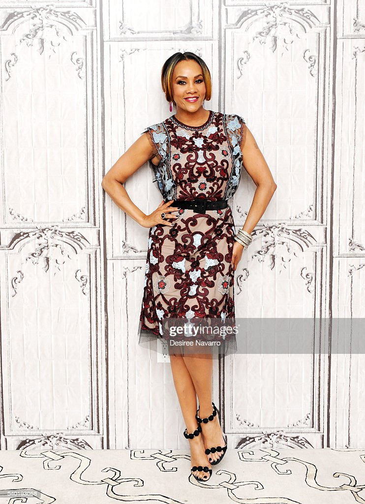 Actress Vivica Fox attends AOL Build Speaker Series 'Independence Day Resurgence' at AOL Studios In New York on June 14 2016 in New York City