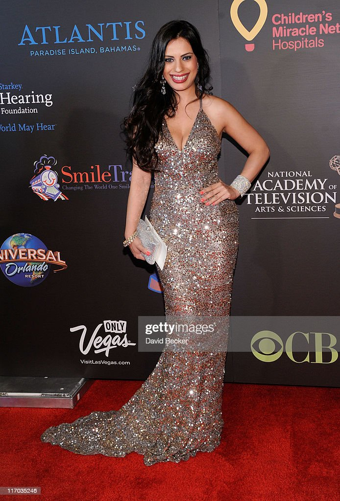 Actress Vivica Mitra arrives at the 38th Annual Daytime Entertainment Emmy Awards held at the Las Vegas Hilton on June 19, 2011 in Las Vegas, Nevada.