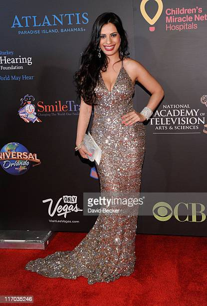 Actress Vivica Mitra arrives at the 38th Annual Daytime Entertainment Emmy Awards held at the Las Vegas Hilton on June 19 2011 in Las Vegas Nevada