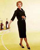 Actress Vivien Leigh as Karen Stone in 'The Roman Spring of Mrs Stone' 1961
