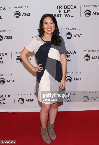 ACtress VyVy Nguyen attends Tribeca TV Pilot Season 'Manic' showing during the 2017 Tribeca Film Festival at Cinepolis Chelsea on April 23 2017 in...