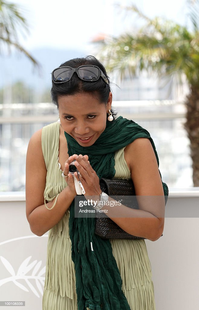Actress Wallapa Mongkolprasert attends the 'Uncle Boonmee Who Can Recall His Past Lives' Photocall at the Palais des Festivals during the 63rd Annual Cannes Film Festival on May 21, 2010 in Cannes, France.