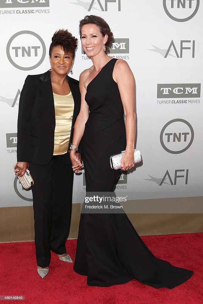 Actress Wanda Sykes (L) and Alex Sykes attend the 2014 AFI Life Achievement Award: A Tribute to Jane Fonda at the Dolby Theatre on June 5, 2014 in Hollywood, California. Tribute show airing Saturday, June 14, 2014 at 9pm ET/PT on TNT.