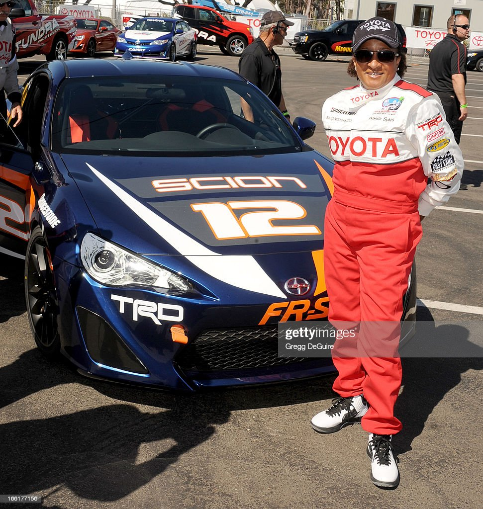 Actress <a gi-track='captionPersonalityLinkClicked' href=/galleries/search?phrase=Wanda+Sykes&family=editorial&specificpeople=208075 ng-click='$event.stopPropagation()'>Wanda Sykes</a> attends the 2013 Toyota Pro/Celebrity Race press practice day on April 9, 2013 in Long Beach, California.