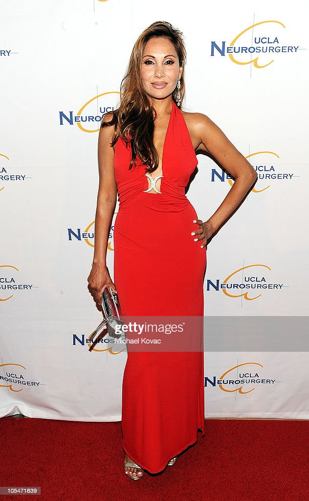 Actress Wedil David attends UCLA Department of Neurosurgery's 2010 Visionary Ball at The Beverly Hilton Hotel on October 14, 2010 in Beverly Hills, California.