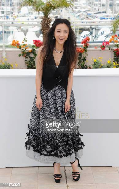 Actress Wei Tang attends the 'Wu Xia' Photocall during the 64th Annual Cannes Film Festival at Palais des Festivals on May 14 2011 in Cannes France