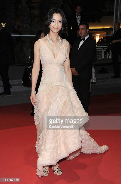 Actress Wei Tang attends the 'Wu Xia' Premiere during the 64th Annual Cannes Film Festival at the Palais des Festivals on May 13 2011 in Cannes France