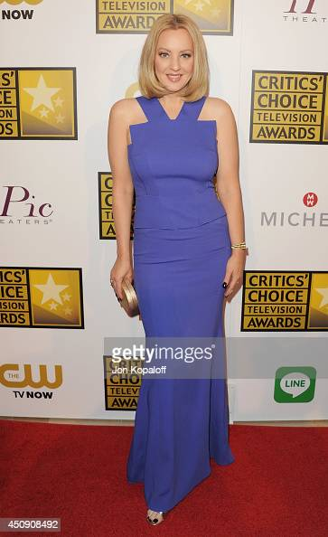 Actress Wendi McLendonCovey arrives at the 4th Annual Critics' Choice Television Awards at The Beverly Hilton Hotel on June 19 2014 in Beverly Hills...