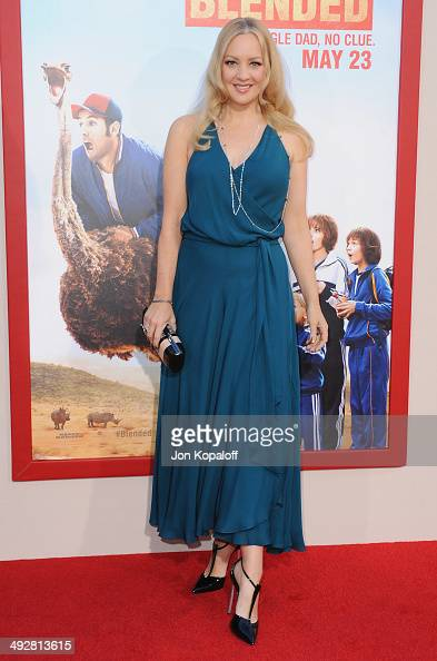 Actress Wendi McLendonCovey arrives at the Los Angeles Premiere 'Blended' at TCL Chinese Theatre on May 21 2014 in Hollywood California