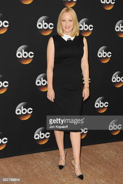 Actress Wendi McLendonCovey arrives the Disney|ABC Television Group 2014 Television Critics Association Summer Press Tour at The Beverly Hilton Hotel...