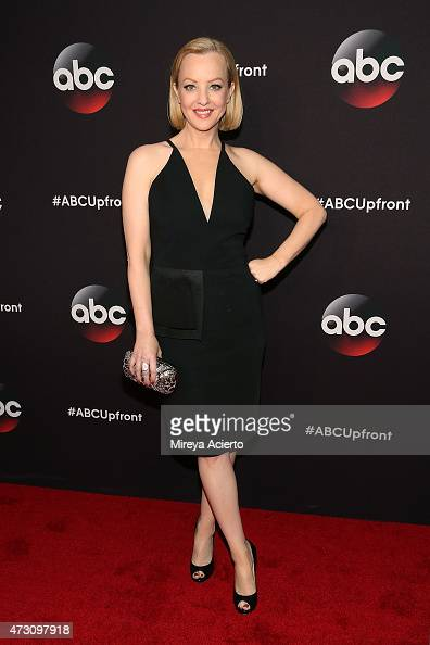 Actress Wendi McLendonCovey attends the 2015 ABC NY Upfront Presentation at Avery Fisher Hall at Lincoln Center for the Performing Arts on May 12...