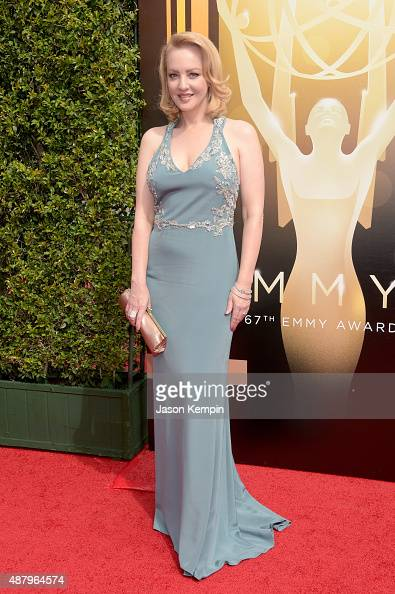 Actress Wendi McLendonCovey attends the 2015 Creative Arts Emmy Awards at Microsoft Theater on September 12 2015 in Los Angeles California