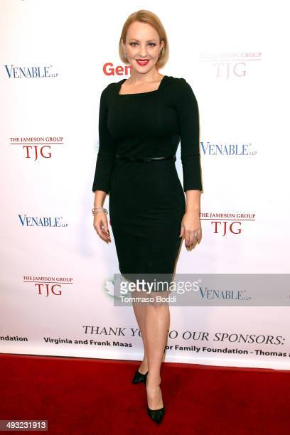 Actress Wendi McLendonCovey attends the advanced screening of 'Blended' starring Adam Sandler benefiting the Maple Counseling held at the Saban...