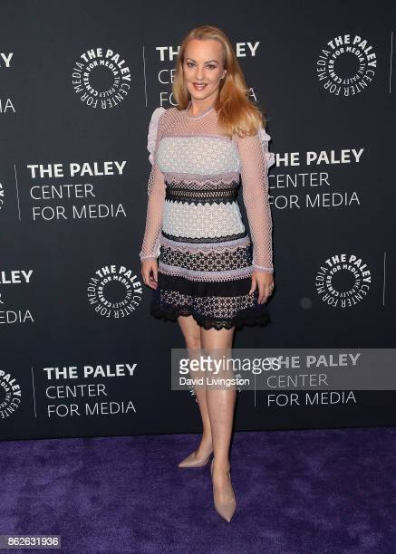 Actress Wendi McLendonCovey attends 'The Goldbergs' 100th episode celebration at The Paley Center for Media on October 17 2017 in Beverly Hills...