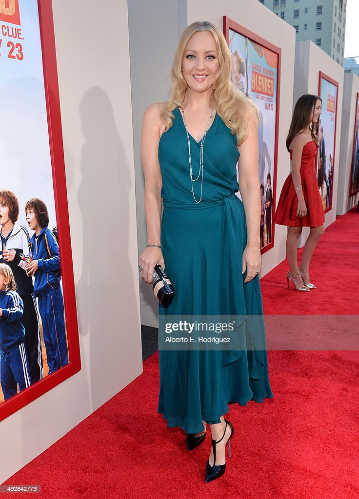 Actress <a gi-track='captionPersonalityLinkClicked' href=/galleries/search?phrase=Wendi+McLendon-Covey&family=editorial&specificpeople=1458142 ng-click='$event.stopPropagation()'>Wendi McLendon-Covey</a> attends the Los Angeles premiere of 'Blended' at TCL Chinese Theatre on May 21, 2014 in Hollywood, California.