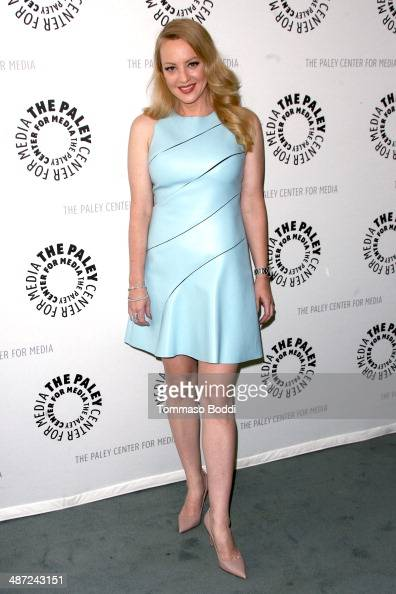 Actress Wendi McLendonCovey attends the Paley Center for Media presents 'The Goldbergs Your TV Trip To The 1980s' held at The Paley Center for Media...