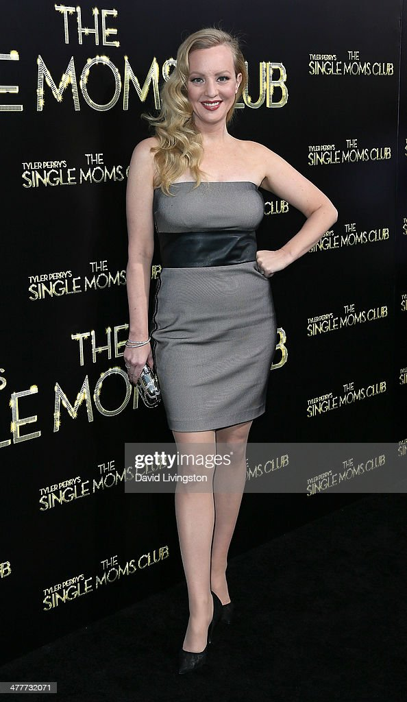 Actress <a gi-track='captionPersonalityLinkClicked' href=/galleries/search?phrase=Wendi+McLendon-Covey&family=editorial&specificpeople=1458142 ng-click='$event.stopPropagation()'>Wendi McLendon-Covey</a> attends the premiere of Tyler Perry's 'The Single Moms Club' at the ArcLight Cinemas Cinerama Dome on March 10, 2014 in Hollywood, California.