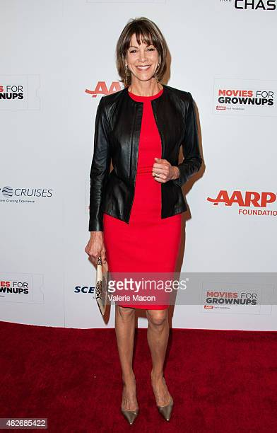 Actress Wendie Malick arrives at the AARP The Magazine's 14th Annual Movies For Grownups Awards Gala at the Beverly Wilshire Four Seasons Hotel on...