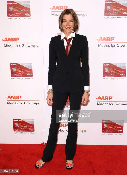 Actress Wendie Malick attends AARP's 16th annual Movies For Grownups Awards at the Beverly Wilshire Four Seasons Hotel on February 6 2017 in Beverly...