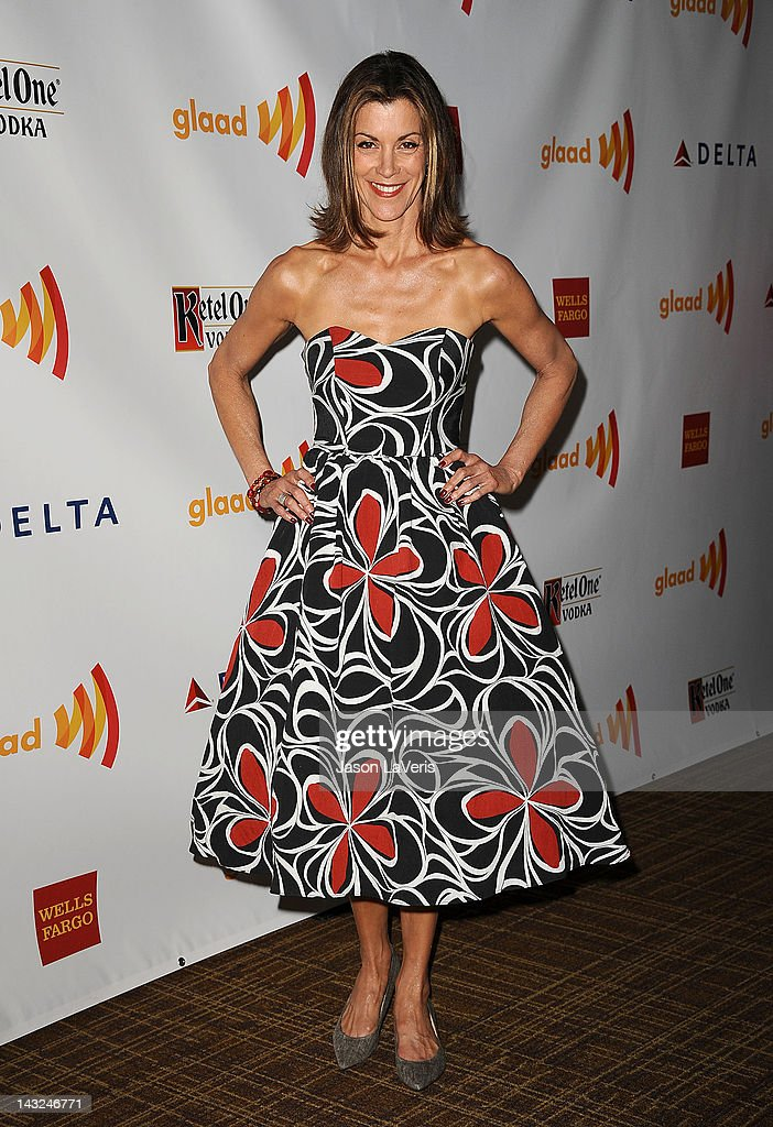 Actress Wendie Malick attends the 23rd annual GLAAD Media Awards at Westin Bonaventure Hotel on April 21 2012 in Los Angeles California