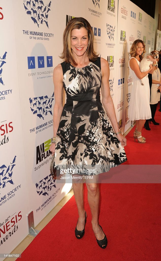 Actress Wendie Malick attends the 26th Genesis Awards held at The Beverly Hilton Hotel on March 24 2012 in Beverly Hills California