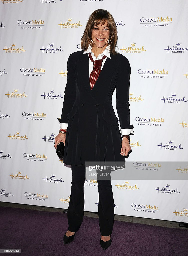 Actress Wendie Malick attends the Hallmark Channel 2013 winter press gala at Huntington Library on January 4, 2013 in Pasadena, California.
