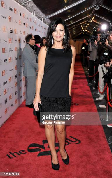 Actress Wendy Crewson arrives at the 'Winnie' Premiere during the 2011 Toronto International Film Festival held at Roy Thomson Hall on September 16...
