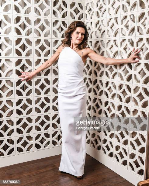 Actress Wendy Crewson poses at the 2016 Canadian Screen Awards Portrait Studio at the Sony Centre for the Performing Arts on March 13 2016 in Toronto...