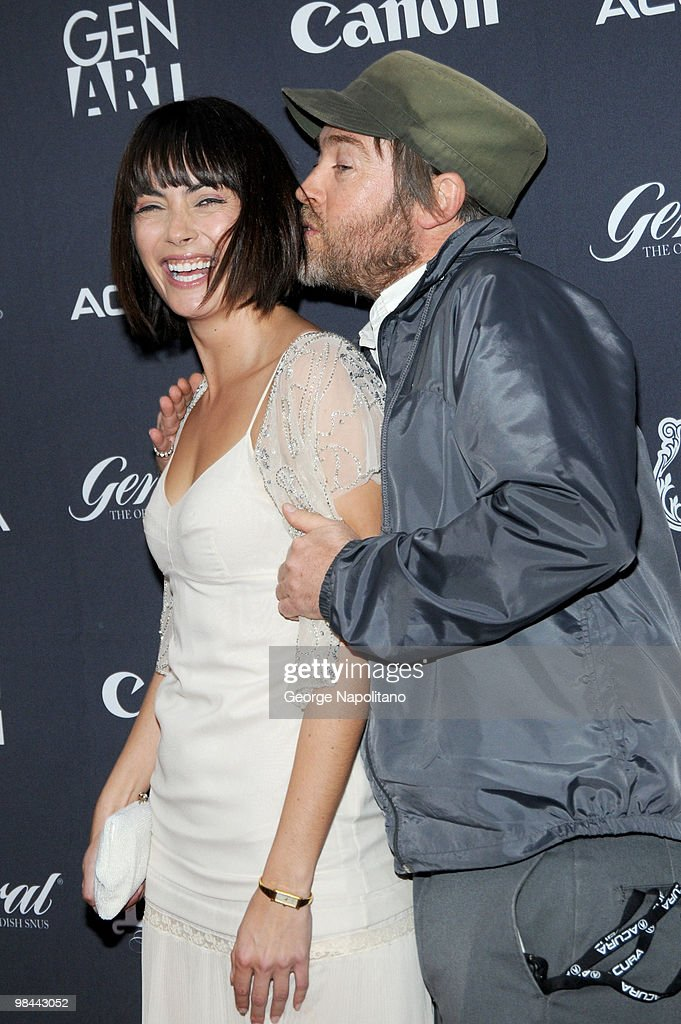 Actress Wendy Glenn (L) and director Patrick Hoelck attend the 15th annual Gen Art Film Festival screening of 'Mercy' at the School of Visual Arts on April 13, 2010 in New York City.