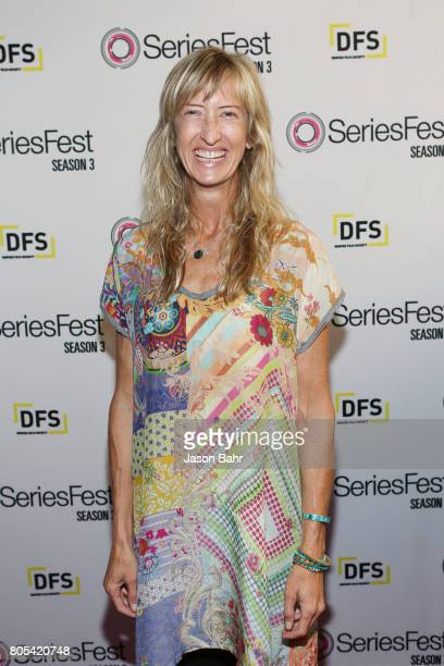 Actress Wendy Haines arrives to the Women In Entertainment panel discussion for SeriesFest Season 3 at Sie FilmCenter on July 1 2017 in Denver...
