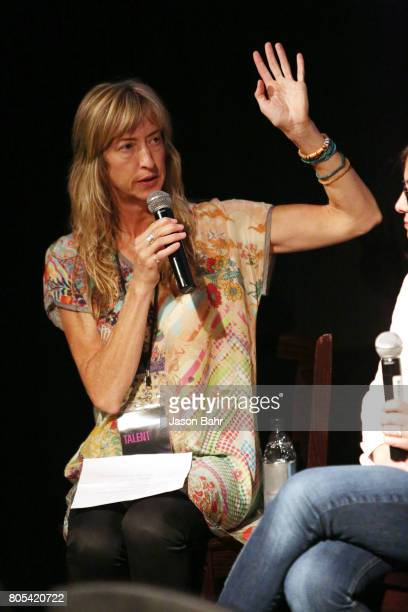 Actress Wendy Haines moderates the Women In Entertainment panel discussion for SeriesFest Season 3 at Sie FilmCenter on July 1 2017 in Denver Colorado