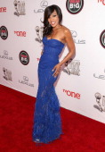 Actress Wendy Raquel Robinson attends the 45th NAACP Image Awards presented by TV One at Pasadena Civic Auditorium on February 22 2014 in Pasadena...