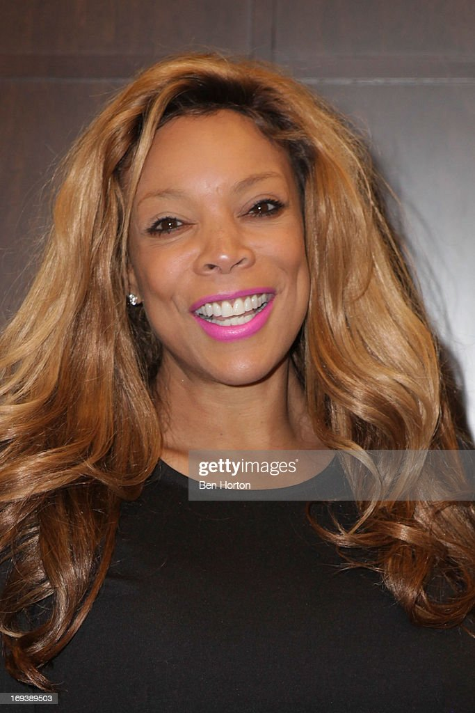 Actress <a gi-track='captionPersonalityLinkClicked' href=/galleries/search?phrase=Wendy+Williams&family=editorial&specificpeople=4134023 ng-click='$event.stopPropagation()'>Wendy Williams</a> signs copies of her new book 'Ask Wendy' at Barnes & Noble bookstore at The Grove on May 23, 2013 in Los Angeles, California.