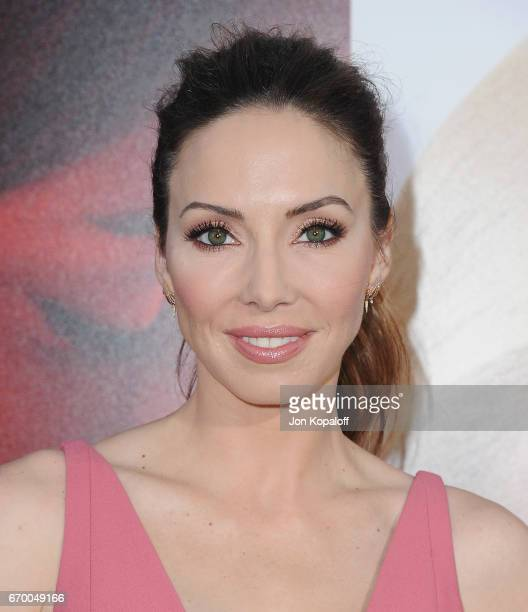 Actress Whitney Cummings arrives at the Los Angeles Premiere 'Unforgettable' at TCL Chinese Theatre on April 18 2017 in Hollywood California