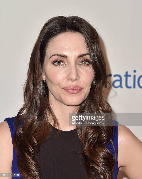 Actress Whitney Cummings attends Operation Smile's 2015 Smile Gala at the Beverly Wilshire Four Seasons Hotel on October 2 2015 in Beverly Hills...