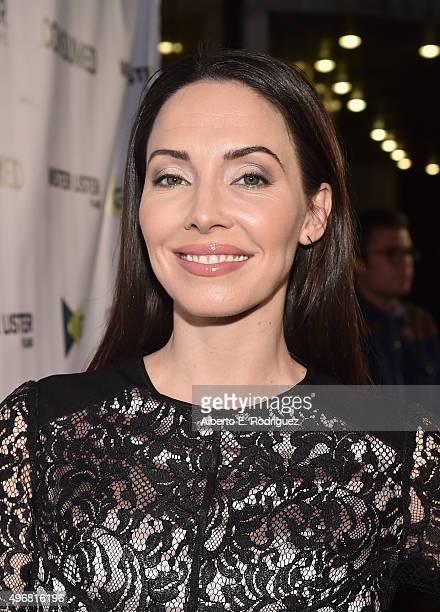 Actress Whitney Cummings attends the Los Angeles premiere of Mister Lister Films' 'Consumed' at Laemmle Music Hall on November 11 2015 in Beverly...