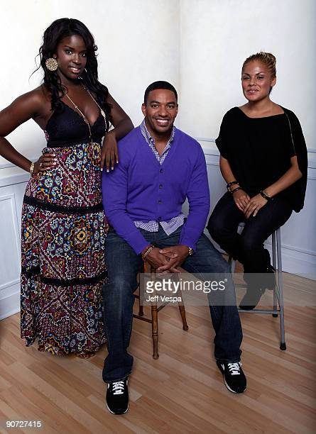 Actress Whitney Gamble actor Laz Alonso and actress Jessica Romero pose for a portrait during the 2009 Toronto International Film Festival held at...